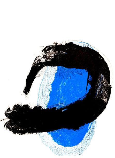 Joan Miró, 'Abstract blue', 1961