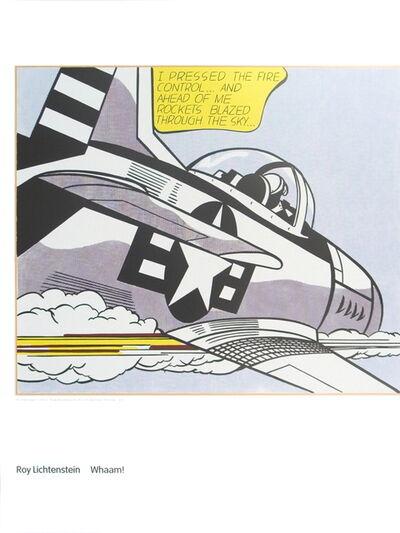 Roy Lichtenstein, 'Whaam A', 2007