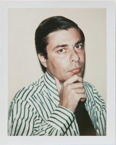 Andy Warhol, 'Andy Warhol, Polaroid Photograph of Bob Colacello, 1977', 1977