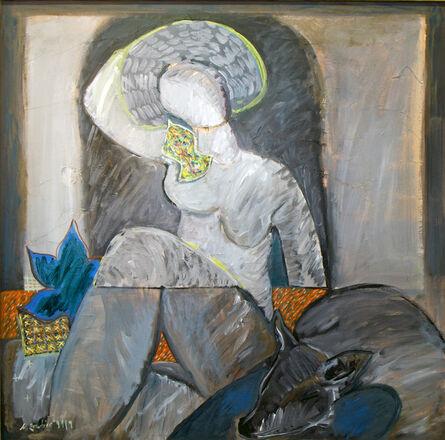 Hellal Zoubir, 'Apple Sun', 1992