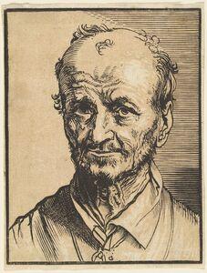 Jan Lievens, 'Bust of a Balding Man'