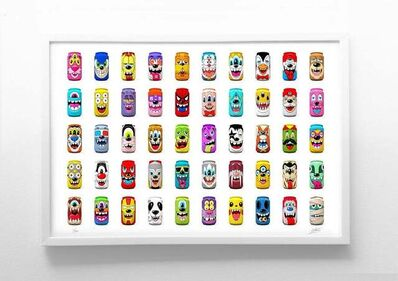 Greg Mike, 'MAD CANS SERIES 2', 2021