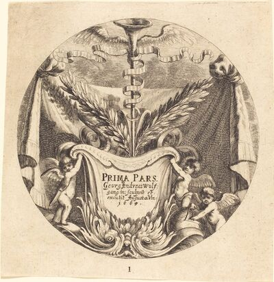 Georg Andreas Wolfgang, the Elder, 'Title Page', 1665