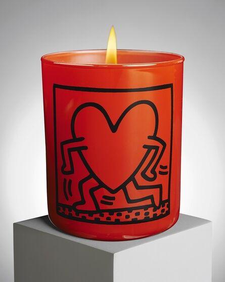 Keith Haring, 'Red Running Heart', ca. 2015