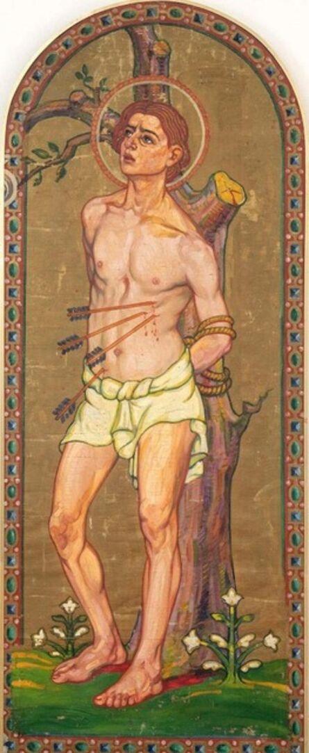 Unknown French, 'Saint Sebastian', 20th Century
