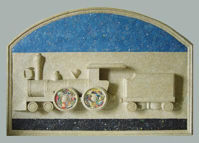 Jirí Kolár, 'Fable de la Reine des Etoils Filantes sur Rail de Chemin de Fer', 1987