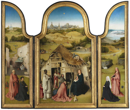 Hieronymus Bosch, 'The Adoration of the Magi Triptych ', 1494