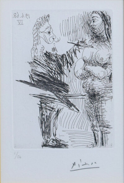 Pablo Picasso, 'The 347 series BL.1647', 1968