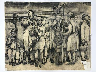 Daniel Ralph Celentano, 'Subway Scene (Large Study)', circa 1940