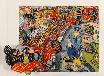 Red Grooms, 'No Gas Portfolio (six works)', 1971