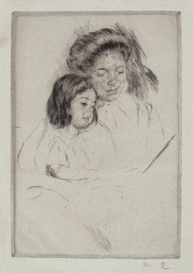 Mary Cassatt, 'The Picture Book (No. 1)', ca. 1901