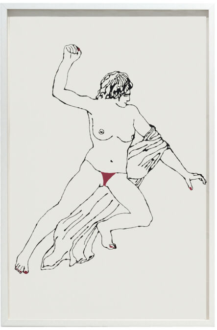 Zoulikha Bouabdellah, 'Theseus Slaying a Centaur', 2009-2016