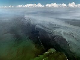 Edward Burtynsky, 'Oil Spill #13, Mississippi Delta, Gulf of Mexico, June 24, 2010', 2010