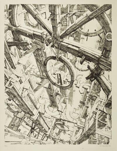 Erik Desmazières, 'Les Roues', 1974