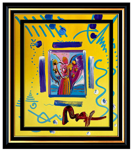 Peter Max, 'ANGEL WITH HEART', 21st Century