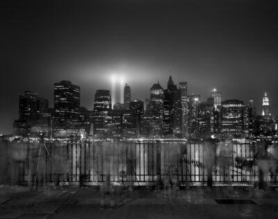 Matthew Pillsbury, 'Tribute of Light, Sunday, September 11th', 2011