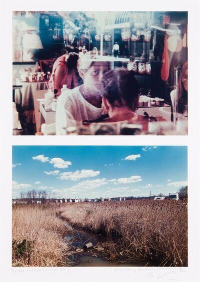 "Dan Graham, '""Fast-Food Restaurant, Seatle, 1980"" / ""Housing Near Marsh, Staten Island, New York, 1997""'"