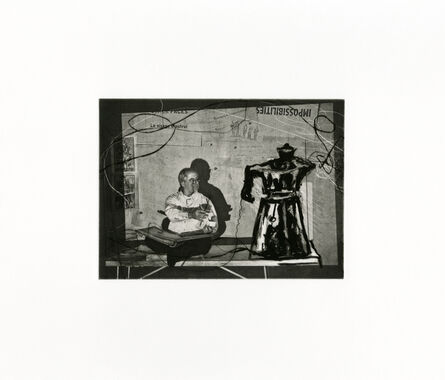 William Kentridge, 'Scribe 2', 2011