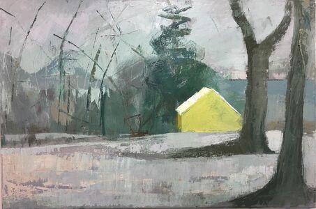 Lisa Hesselgrave, 'Yellow/Then', 2021