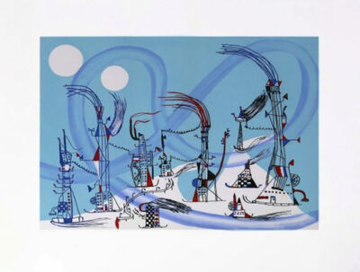 Nathan Carter, 'A super cell arctic vortex ripped........', 2014