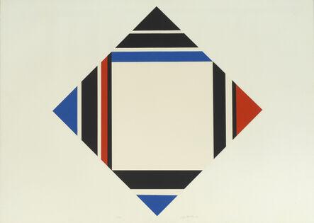Ilya Bolotowsky, 'Diamond - Red, Blue, Black', 1969