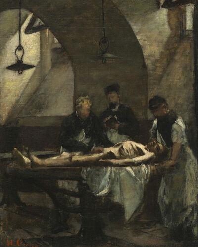 "Henri Gervex, 'Study for ""Autopsy at the Hôtel-Dieu""', 1876"