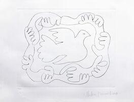 Pablo Picasso, 'ETUDES DES MAINS ET COLOMBE', 1979-1982