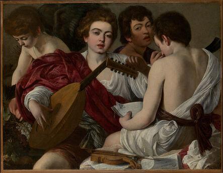 Michelangelo Merisi da Caravaggio, 'The Musicians', 1597