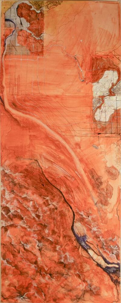 Madeleine Brehm Boucher, 'Map (Desert)', 2010-2012