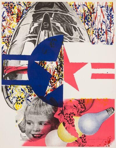 James Rosenquist, 'F-111 (Castelli Gallery Poster)', 1965
