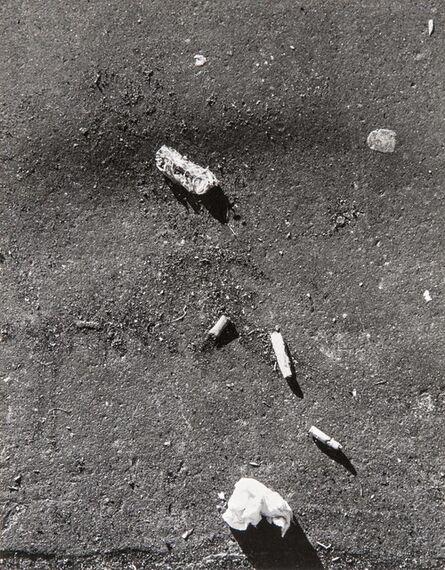 Walker Evans, 'New York City Pavement', 1962