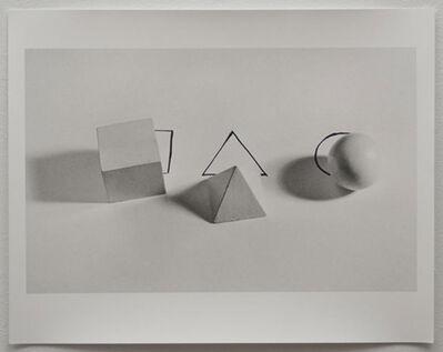 Liliana Porter, 'Geometric Shepes With Drawings', 1973
