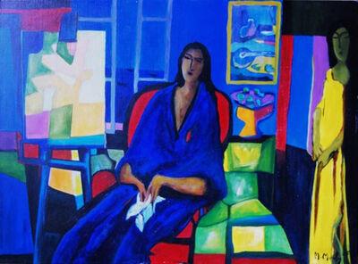 Marcel Mouly, 'Modele Bleu (The Blue Model)', 2005