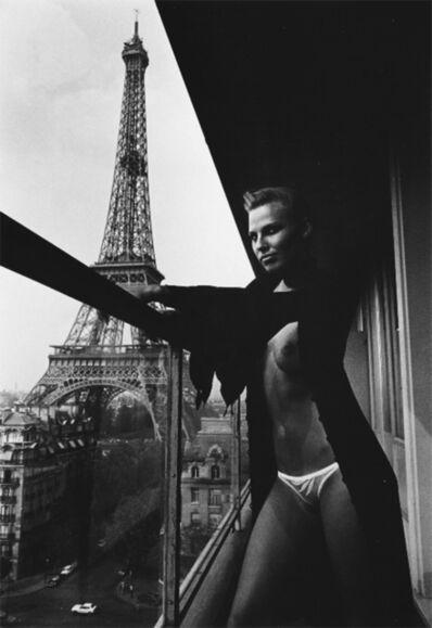 Helmut Newton, 'Model and Meccano Set, Paris', 1976