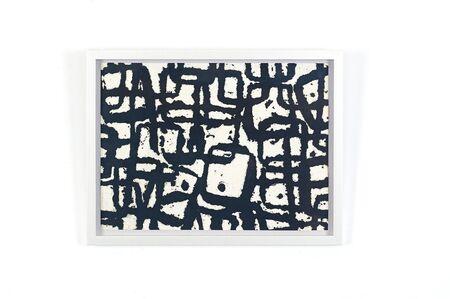 Chiyu Uemae, 'Black Dot in Square ', 2008