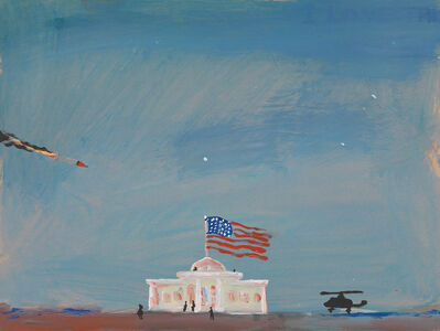 """Federico Luger, 'White House """"Painting""""', 2003"""