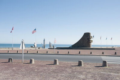 Donald Weber, 'Omaha Beach, Sector Easy, Green. October 6, 2013, 10:47am. 19 Celsius, 63% RELH, Wind NNE, 2 Knots. VIS: Good, Few Clouds, Haze', 2013