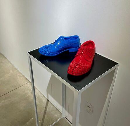 Antuan Rodriguez, 'pasos pensados (thinking steps)', 2020