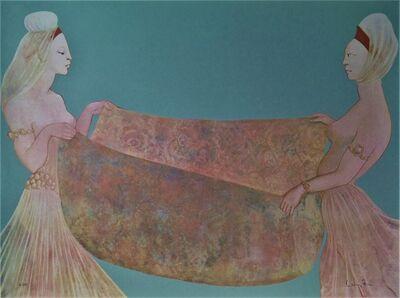 Leonor Fini, 'Amine et la Larve', 1976