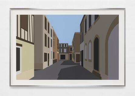 Julian Opie, 'French Village 2.', 2021