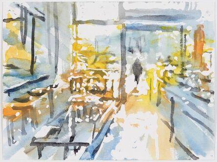 MORITZ HASSE, 'Berlin, Cafe in Mitte', 2019