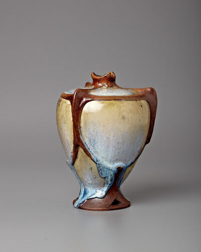 Raoul Lachenal, 'Faux Bronze Mount Vase', ca. 1902