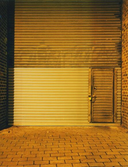 Rut Blees Luxemburg, 'Golden Shutters, London', 2016