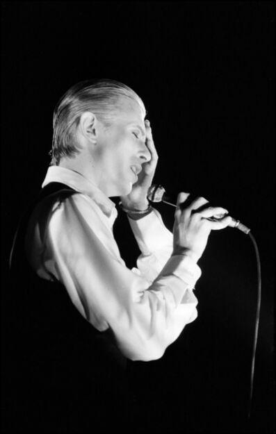 Michael Putland, 'David Bowie in concert on  The Thin White Duke Tour, Wembley,  London', 1976