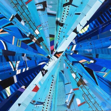 Nicola Katsikis, 'Warp Speed Blue', 2016