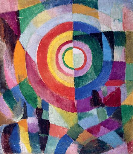 Sonia Delaunay, 'Electric Prisms no.41', 1913-1914