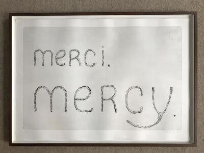 Louise Bourgeois, 'Merci Mercy', 1992