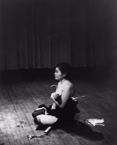 Yoko Ono, 'Cut Piece (1964) performed by Yoko Ono in New Works of Yoko Ono, Carnegie Recital Hall, New York, March 21, 1965', 1964 -1965