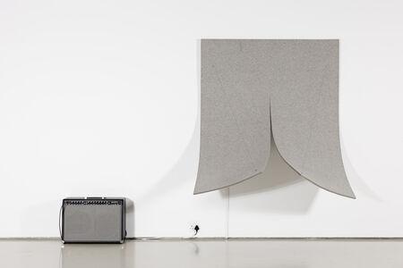 Naama Tsabar, 'Work on Felt (Variation 8) Grey', 2015