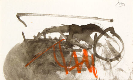 Robert Motherwell, 'UNTITLED (from the Joyce Sketchbook)', 1985